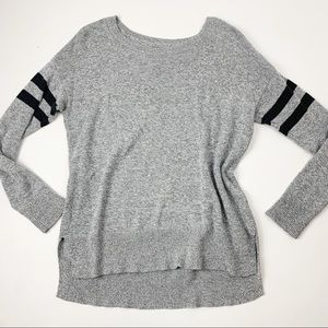 American Eagle Marled Long Sleeve Knit Sweater